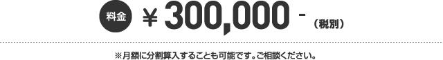 315,000円~